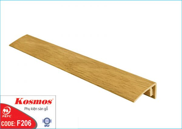nep san go f206 600x424 - Nẹp sàn gỗ F206