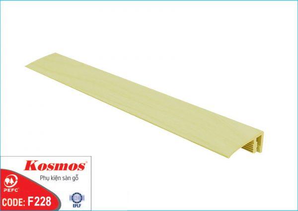 nep san go f228 600x424 - Nẹp sàn gỗ F228