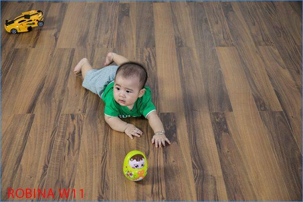 Ưu điểm sàn gỗ robina