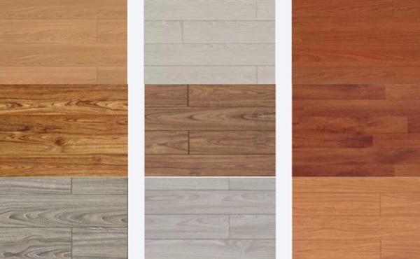 Sàn gỗ công nghiệp Thái Lan đa dạng về màu sắc