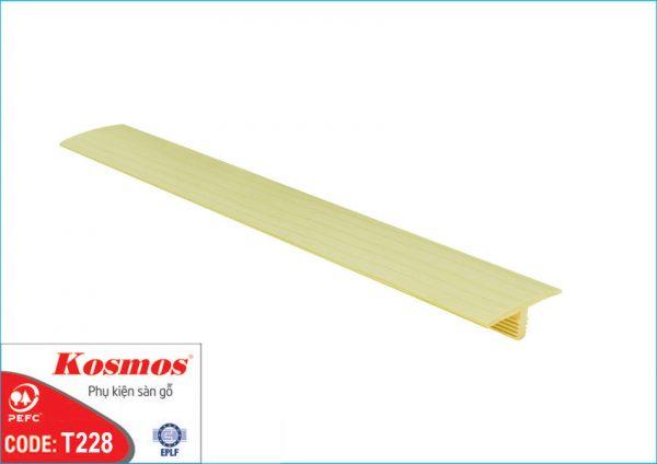 nep san go t228 600x424 - Nẹp sàn gỗ T228