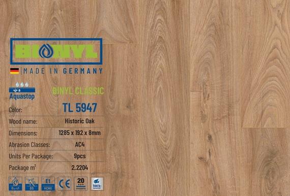 san go binyl 5947 duc - SÀN GỖ BIONYL PRO 5947 8mm