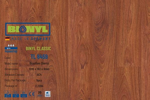 san go binyl 8459 duc - SÀN GỖ BIONYL PRO 8459 8mm