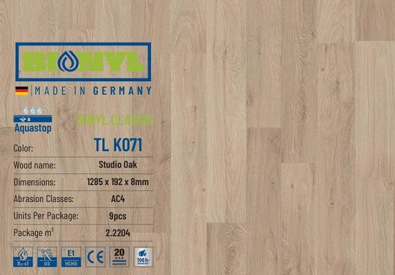 san go binyl k071 1 - Sàn gỗ Bionyl Pro K701 8mm