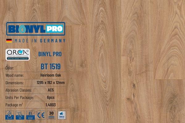 san go binylpro bt1519 duc - SÀN GỖ BIONYL PRO 1519 12mm