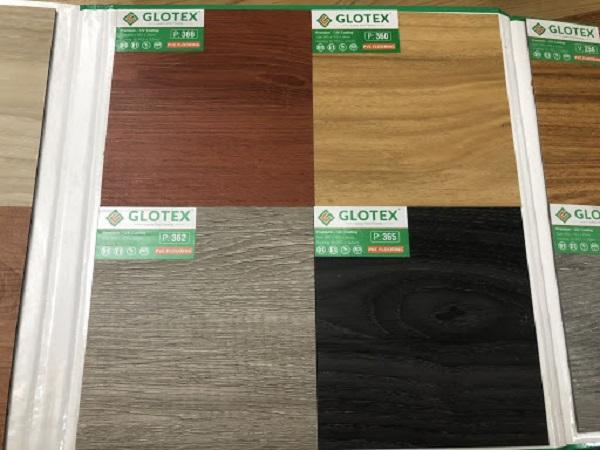 Một số mẫu sàn Glotex